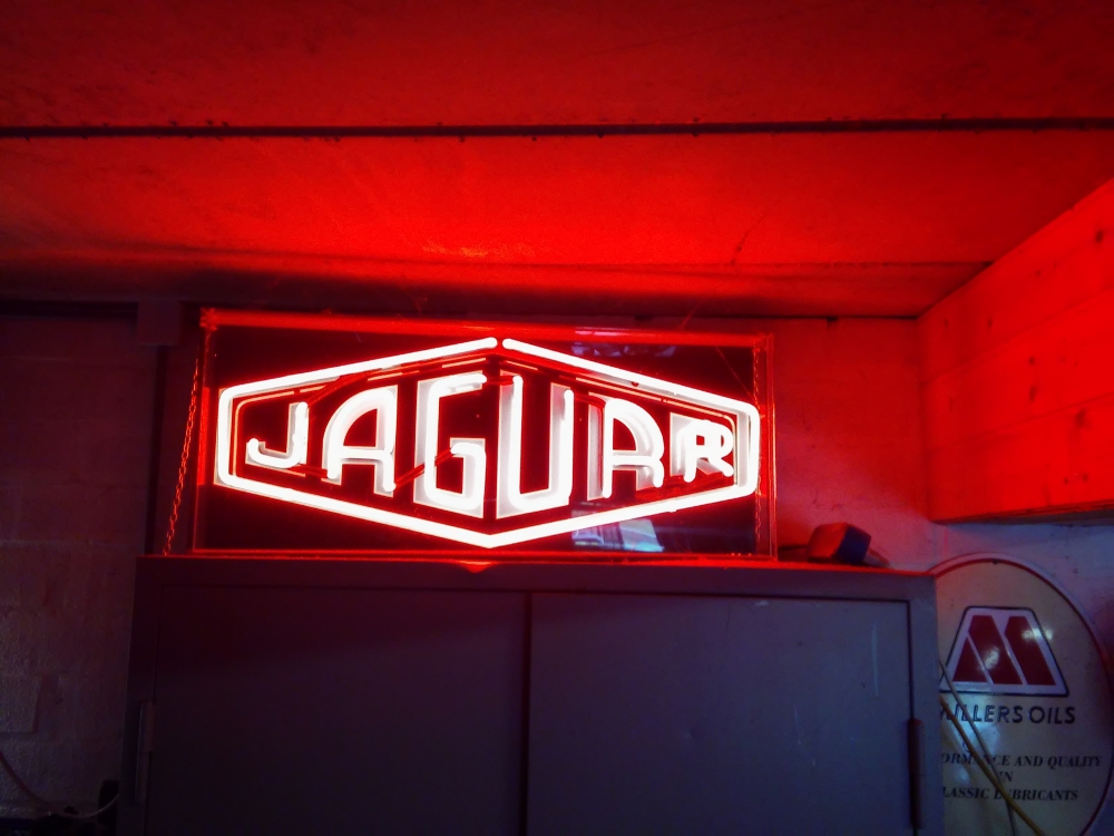 Jaguar neonlight